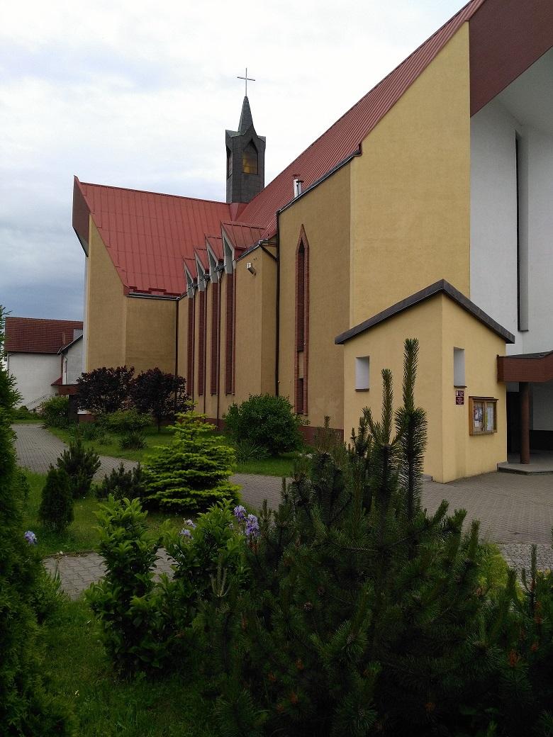 Parafia pw. Przemienienia Pańskiego - Szczecin, Gumieńce