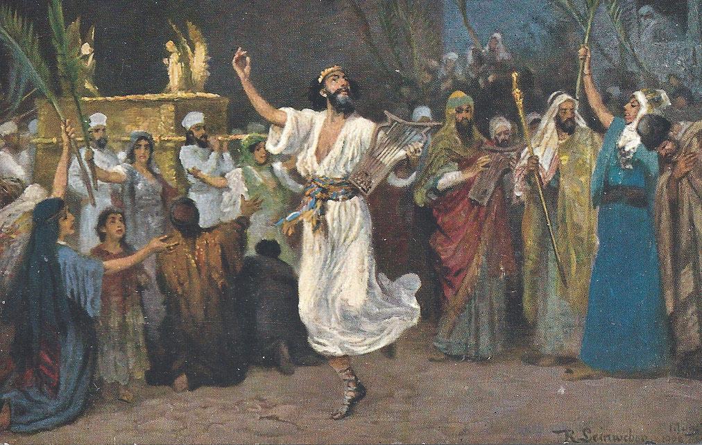 Zachęta do modlitwy uwielbienia na wzór tańczącego króla Dawida