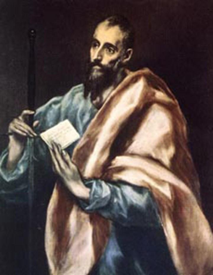 Modlitwa uwielbienia świętego Pawła